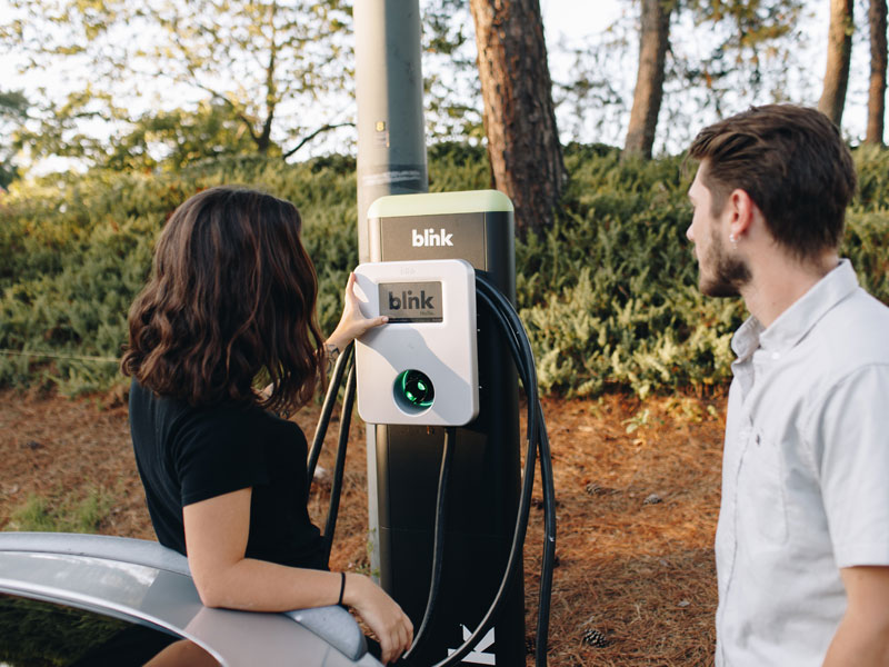 Help! I Bought an EV and I Don't Know How to Charge It! : Blink Mobility